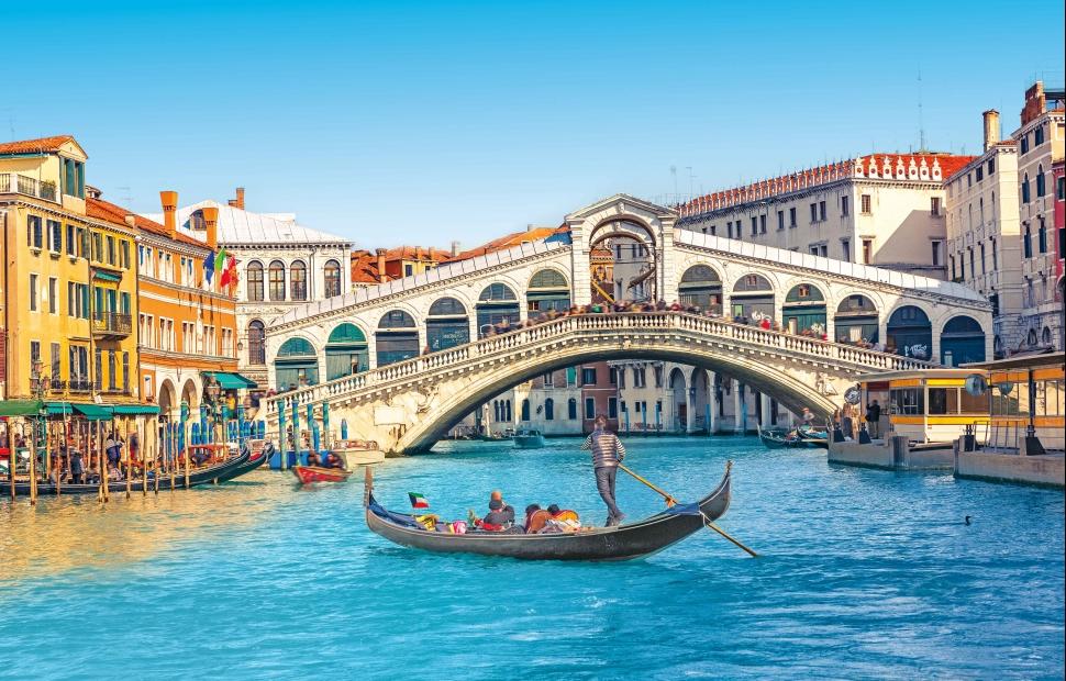 Venise, pont du Rialto � eyetronic - Fotolia