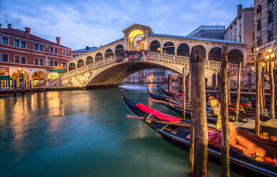 Venise, pont du Rialto � eyetronic - Fotoli