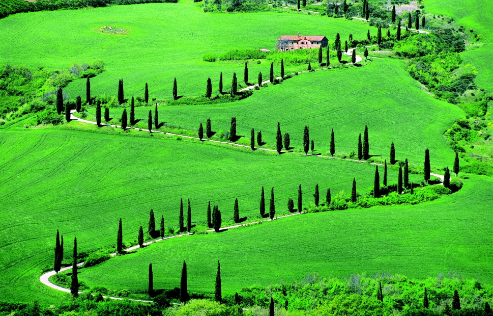 Val d'Orcia - De Agostini Picture Library
