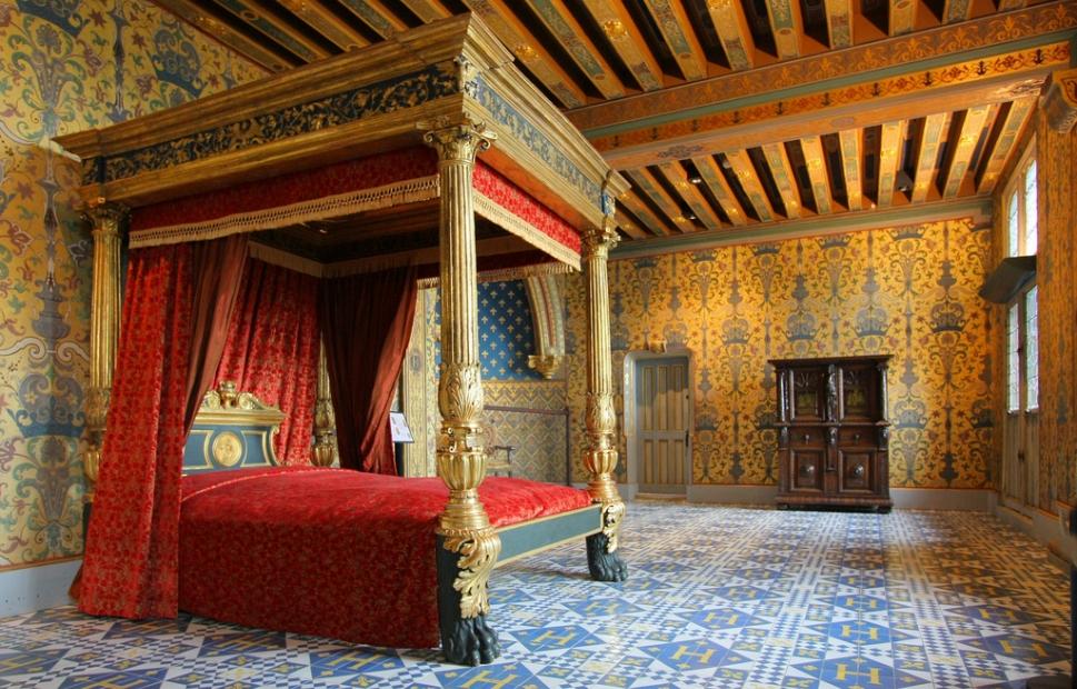 La chambre du roi, Ch�teau de Blois - �CHATEAUROYALBLOIS-dlepissier