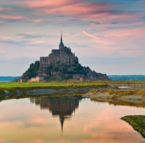 Jersey, la baie du Mont-St-Michel et Granville